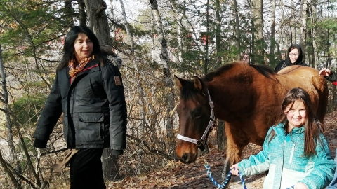 Workshop: Finding the Ojibwe Horse