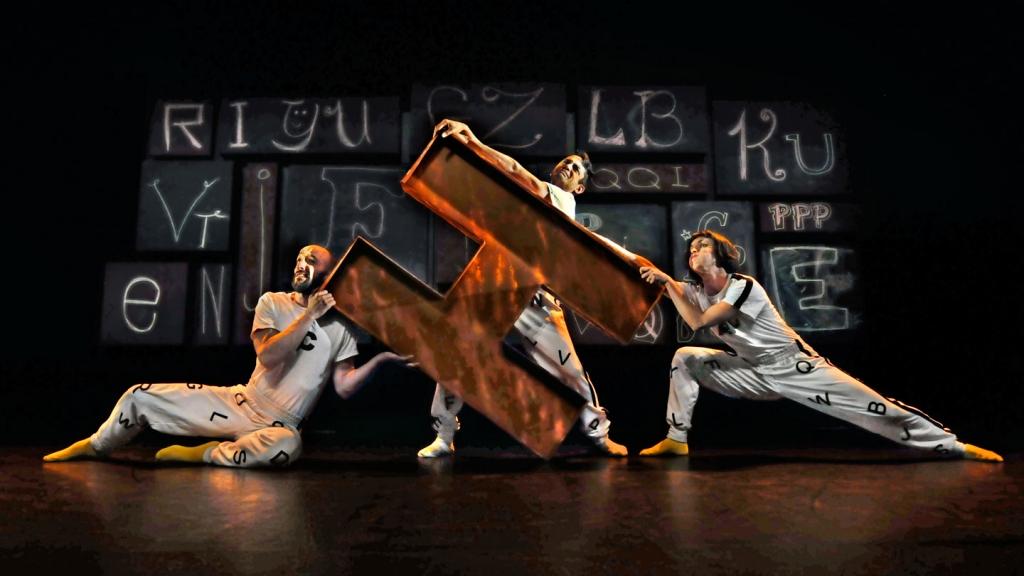 26 lettres à danser, Bouge de là © Rolline Laporte