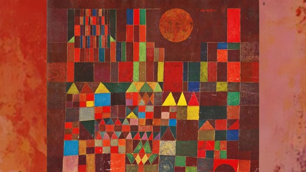 <em>Château et soleil</em>, Paul Klee, 1928  ©
