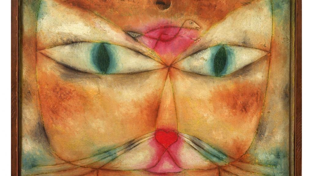 <em>Cat and Bird</em>, Paul Klee, 1928 ©